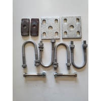 Slipper spring fitting fitting Kit Galvanised